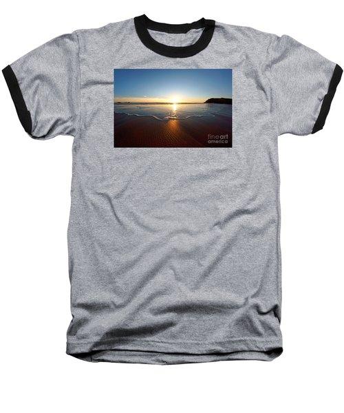 Sand Textures Baseball T-Shirt