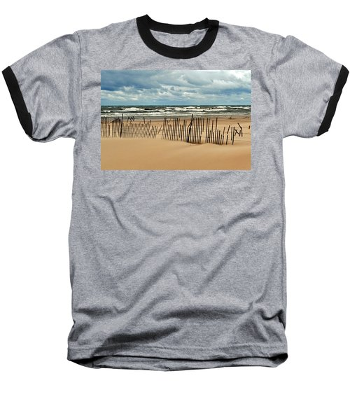 Sandblasted Baseball T-Shirt