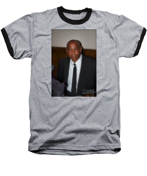 Sanderson - 4536.2 Baseball T-Shirt by Joe Finney