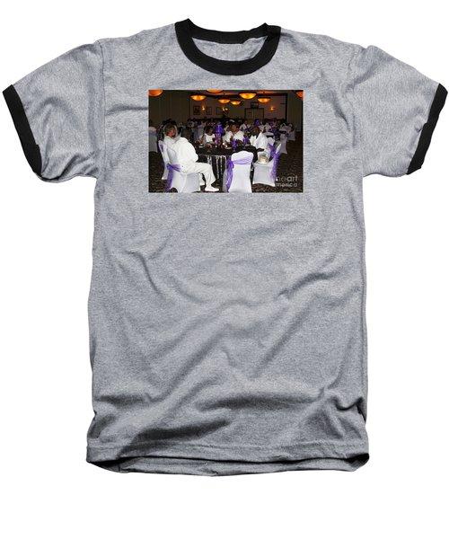 Sanderson - 4553 Baseball T-Shirt by Joe Finney