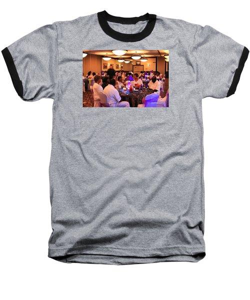 Sanderson - 4559 Baseball T-Shirt by Joe Finney