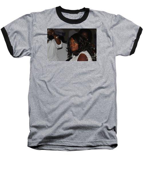 Sanderson - 4678 Baseball T-Shirt by Joe Finney