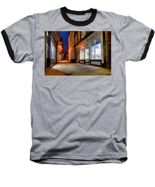 Sandgate, Whitby At Night Baseball T-Shirt
