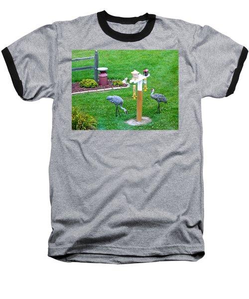 Sandhill Alert Baseball T-Shirt