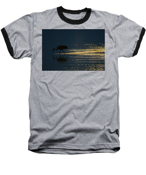 Light Trails Baseball T-Shirt