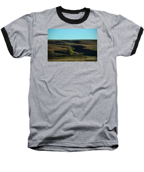 Baseball T-Shirt featuring the photograph Sandhills Hills by Mark McReynolds