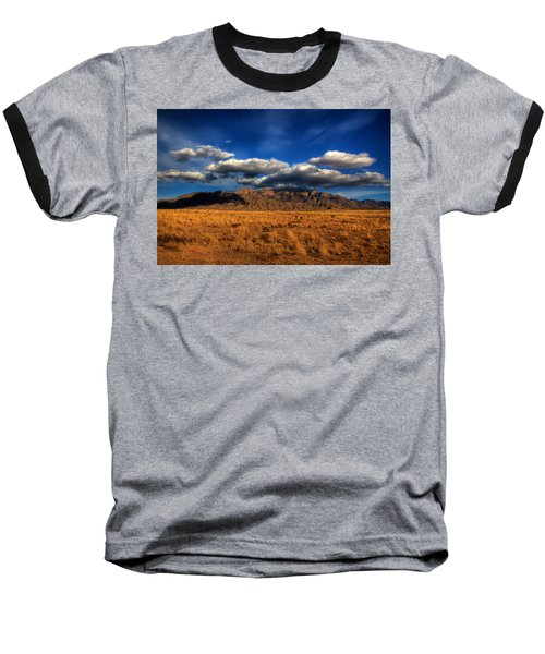 Sandia Crest In Late Afternoon Light Baseball T-Shirt