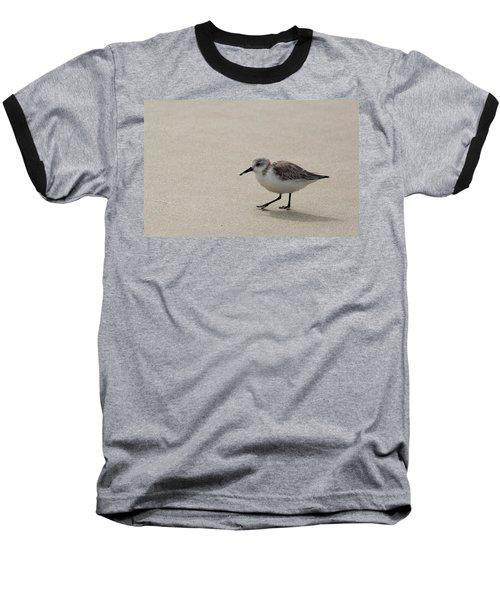 Sandpiper At The Beach Baseball T-Shirt