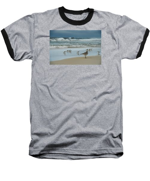Sandpiper Beach Baseball T-Shirt