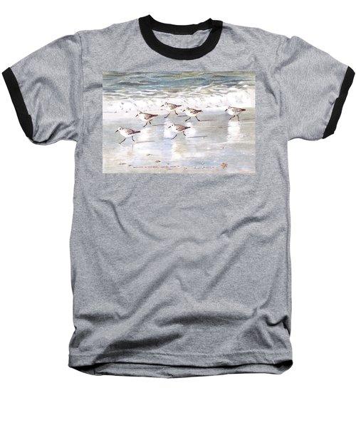 Sandpipers On Siesta Key Baseball T-Shirt