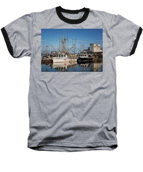 Baseball T-Shirt featuring the photograph Sandra M And Lasqueti Dawn by Randy Hall