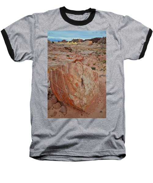 Sandstone Shield In Valley Of Fire Baseball T-Shirt