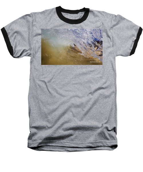 Sandy Beachbreak Wave Baseball T-Shirt