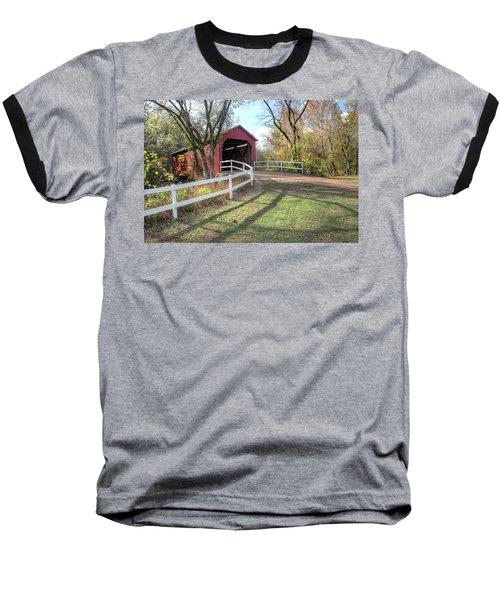 Sandy Creek Covered Bridge Baseball T-Shirt