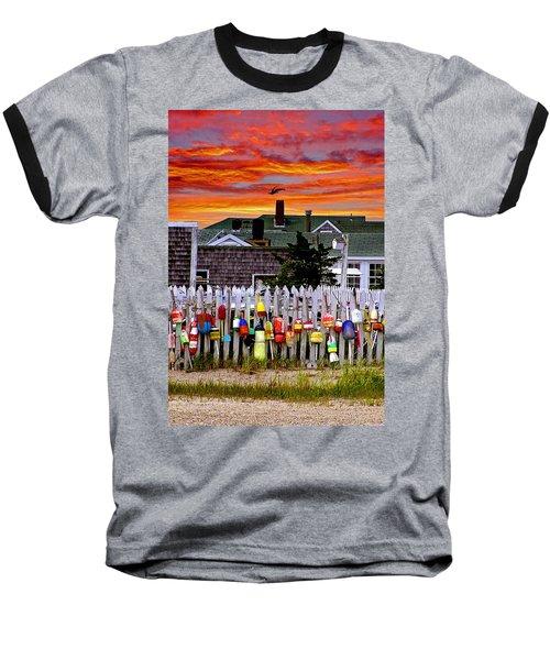 Sandy Neck Sunset Baseball T-Shirt