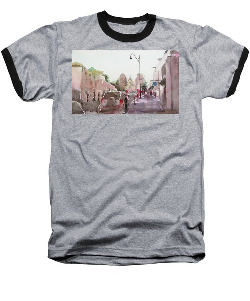 Sanfransisco Street Baseball T-Shirt by Becky Kim