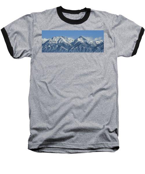 Sangre De Cristo Fourteeners Baseball T-Shirt