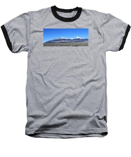 Sangre De Cristo Range Baseball T-Shirt by Christopher Kirby