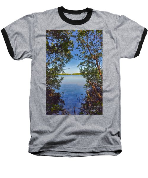 Sanibel Bay View Baseball T-Shirt