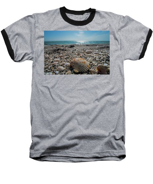 Sanibel Island Sea Shell Fort Myers Florida Baseball T-Shirt