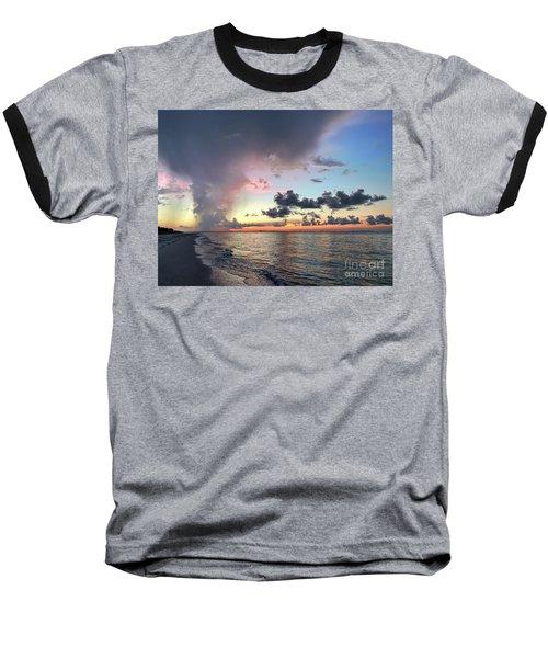 Sanibel Island Sunrise Baseball T-Shirt