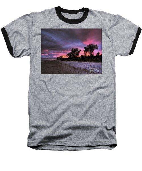 Sanibel Island Twilight Baseball T-Shirt