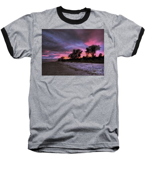 Sanibel Island Twilight Baseball T-Shirt