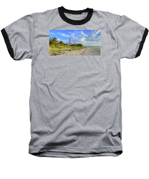 Sanibel Light House Baseball T-Shirt