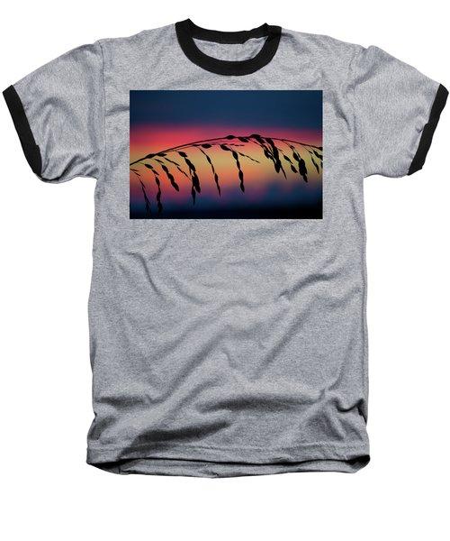 Baseball T-Shirt featuring the photograph Sanibel Sea Oats by Melanie Moraga