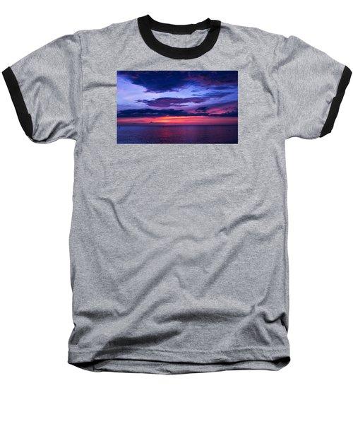 Sanibel Sunset Baseball T-Shirt