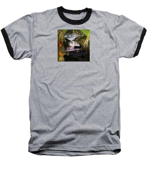 Sano Shack Sunset Baseball T-Shirt