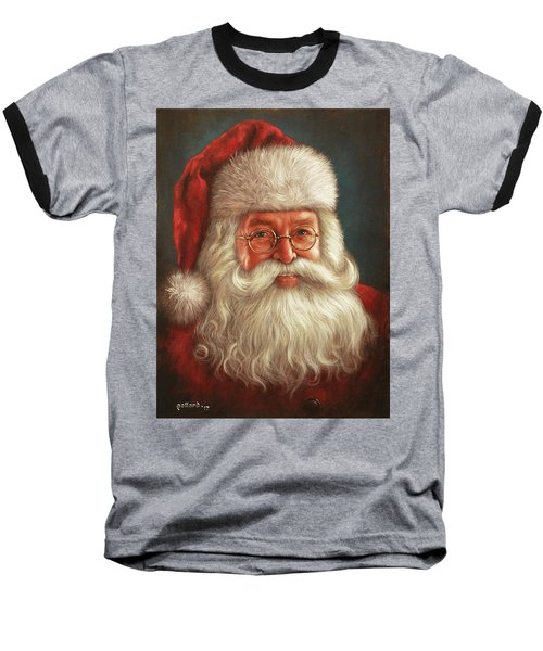 Santa 2017 Baseball T-Shirt