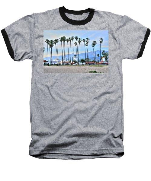 Santa Barbara From The Sea Baseball T-Shirt