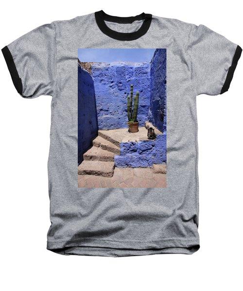 Santa Catalina Monastery Baseball T-Shirt by Aidan Moran