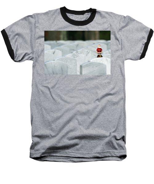 Santa Claus Calverton New York Baseball T-Shirt