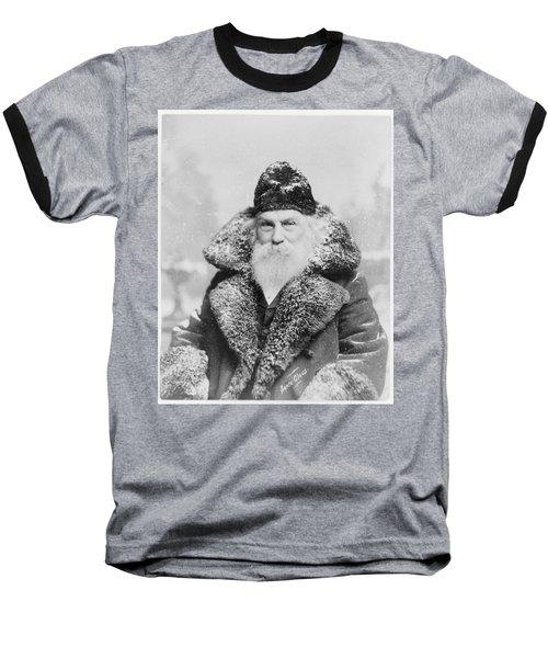 Santa Claus Baseball T-Shirt