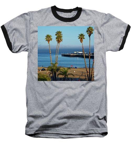 Santa Cruz Beach Baseball T-Shirt