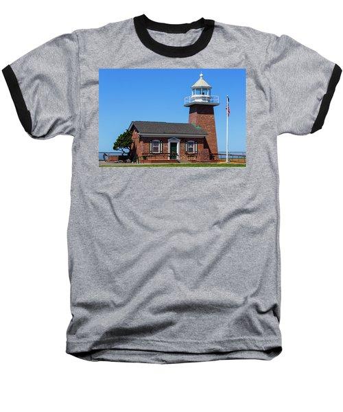 Santa Cruz Lighthouse Baseball T-Shirt