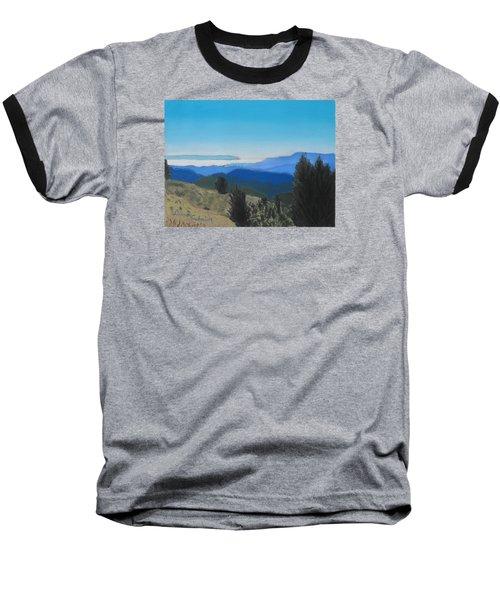 Santa Cruz Mountains Looking To Monterey Bay Baseball T-Shirt