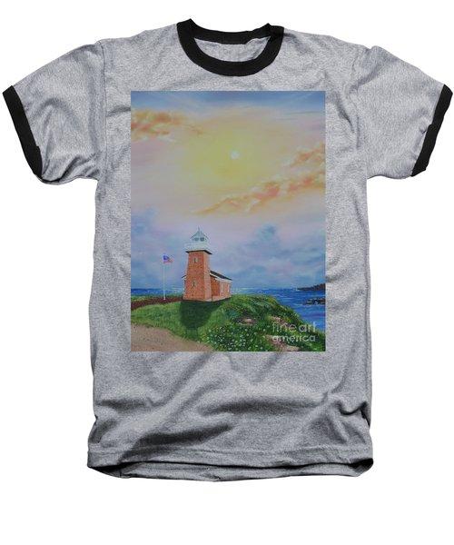 Santa Cruz Sunset Baseball T-Shirt