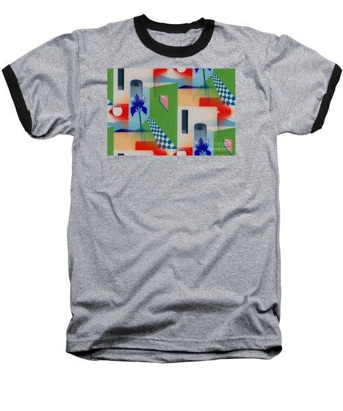 Santa Fe Adobe - #1 Baseball T-Shirt
