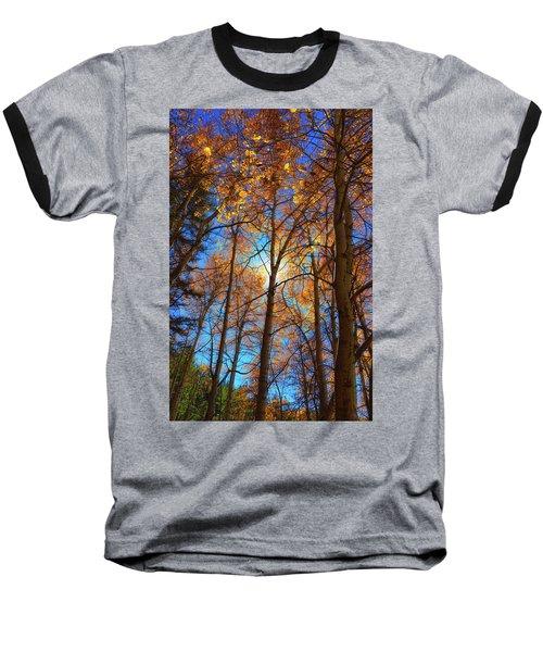 Santa Fe Beauty II Baseball T-Shirt by Stephen Anderson