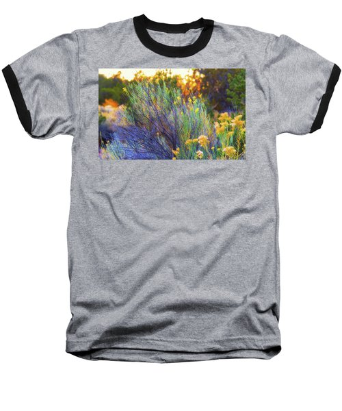 Baseball T-Shirt featuring the photograph Santa Fe Beauty by Stephen Anderson