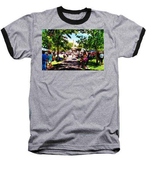 Baseball T-Shirt featuring the photograph Santa Fe New Mexico by Joseph Frank Baraba