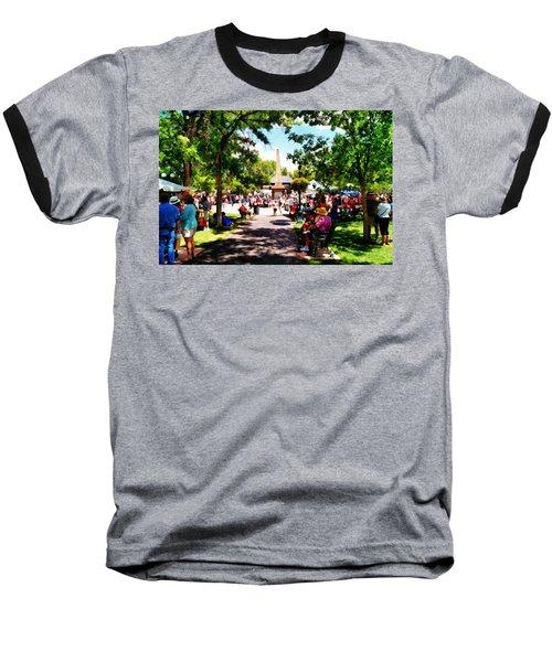 Santa Fe New Mexico Baseball T-Shirt by Joseph Frank Baraba