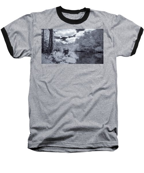 Baseball T-Shirt featuring the photograph Santa Fe River Reflections by Louis Ferreira