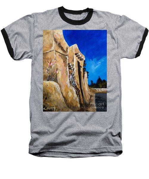 Santa Fe Stroll Baseball T-Shirt