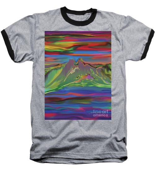 Santa Fe Sunset Baseball T-Shirt