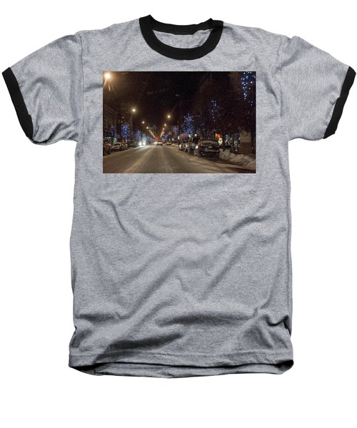 Baseball T-Shirt featuring the photograph Santa Visits Bradford by Wade Aiken