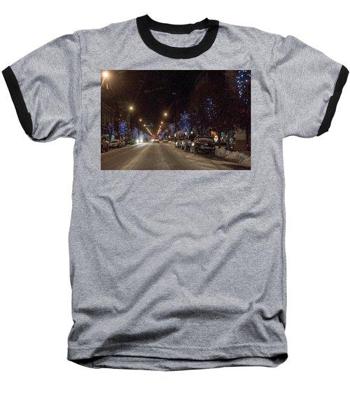 Santa Visits Bradford Baseball T-Shirt